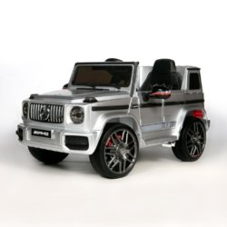 Электромобиль Mercedes Benz G63 BBH-0002 серый (колеса резина, кресло кожа, пульт, музыка)